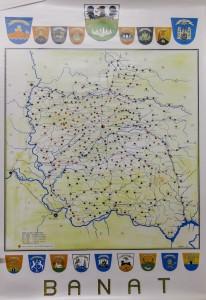 Landkarte-Banat