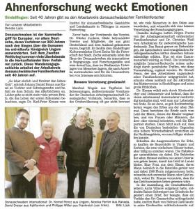 Artikel Sindelfinger Zeitung 20.10.2015